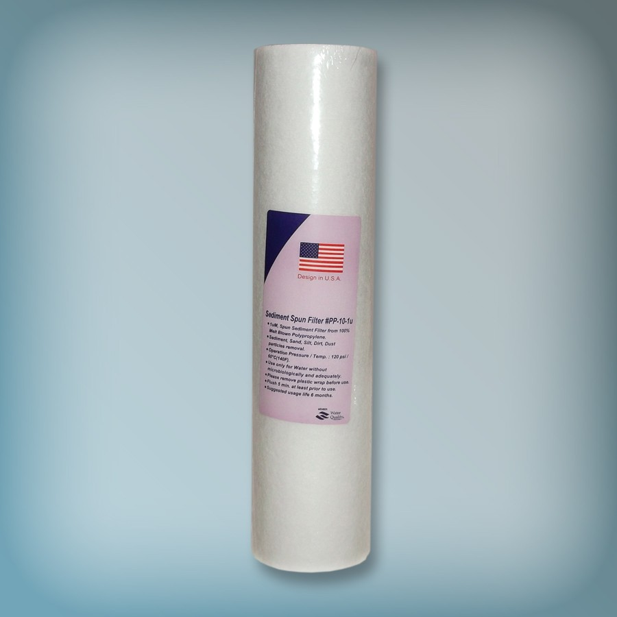 10 Inch 1 Micron Sediment Filtre